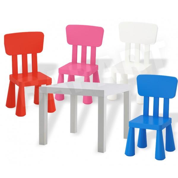 Meble Meble Dla Dzieci Stolik Lack Krzesełko Mammut